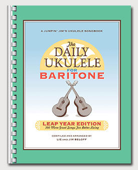 The Daily Ukulele Leap Year Edition For Baritone